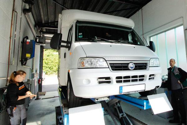 Wohnmobil Service